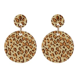 Ericdress Acrylic Leopard Birthday Women's Earrings
