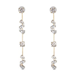 Ericdress Plain Diamante Holiday Sweet Women's Earrings