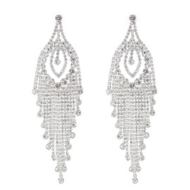 Ericdress European Rhinestone Wedding Fashion Women's Earrings