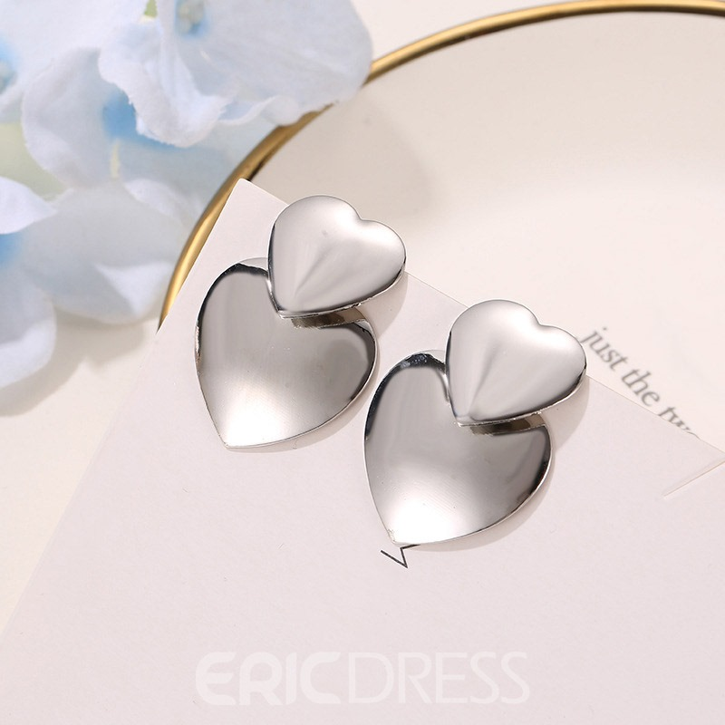 Ericdress Alloy Korean E-Plating Gift Earrings