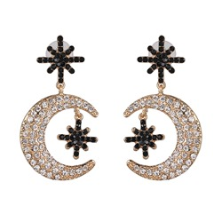 Ericdress Alloy Romantic Diamante Holiday Womens Charm Earrings