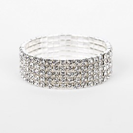 Ericdress Diamante Plain Romantic Wedding Female Bracelets