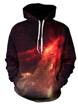 Ericdress Print Galaxy Winter Men's Hoodies
