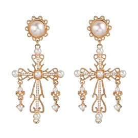 Ericdress Alloy Vintage Pearl Inlaid Prom Women's Earrings
