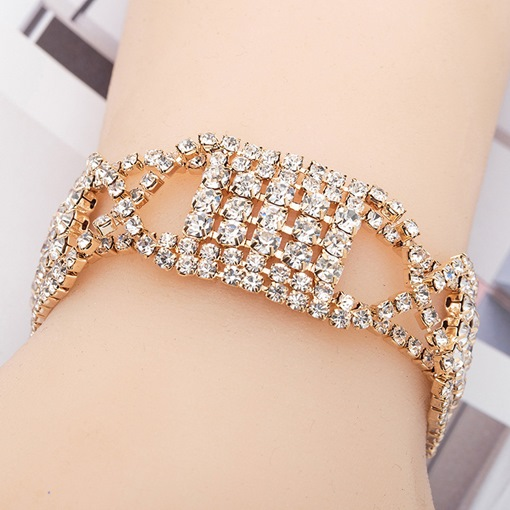 Ericdress Romantic Diamante Anniversary Female Charm Bracelets