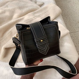 Ericdress Alligator Embossing PU Rectangle Crossbody Bags