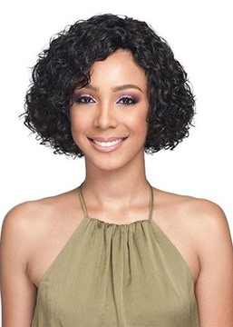 Ericdress Women's Short Length Bob Hairstyles Full Head Curly Synthetic Hair Capless Wigs 12Inch