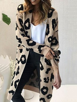 Ericdress Casual Loose Regular Long Cardigan