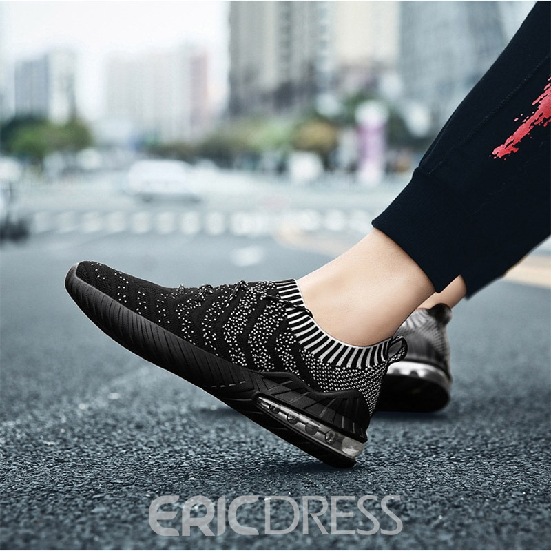 Ericdress Sports Lace-Up Low-Cut Upper Men's Sneakers