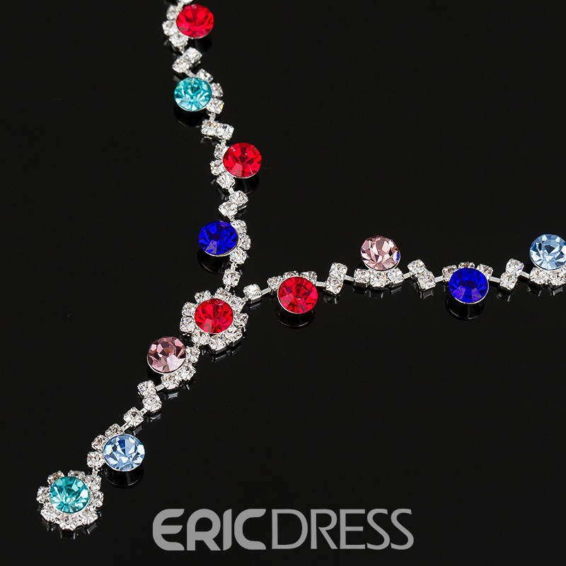 Ericdress Diamante Sweet Prom Jewelry Sets