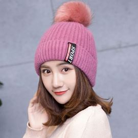 Ericdress Knitted Woolen Yarn Letter Spring Warm Hats