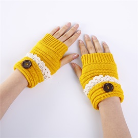 Ericdress Button Touch-Screen Casual Winter Gloves