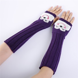 Ericdress Acrylic Cartoon Touch-Screen Winter Gloves