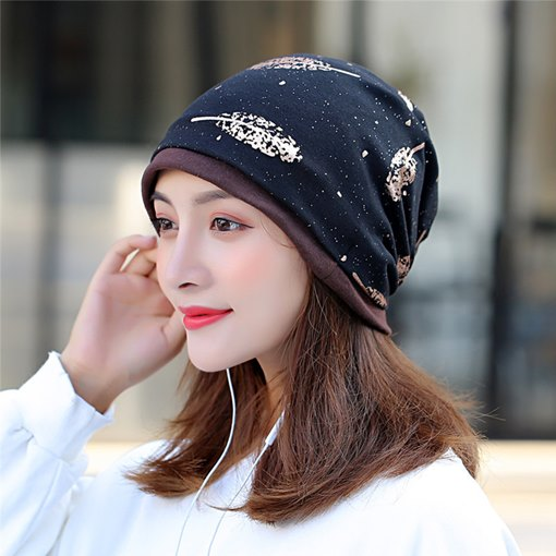 Ericdress Print Skullies & Beanies Winter Casual Women's Hats