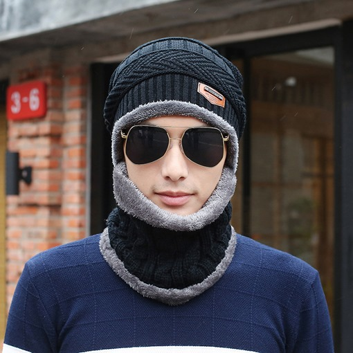 Ericdress Casual Woolen Yarn Winter Men's Hats