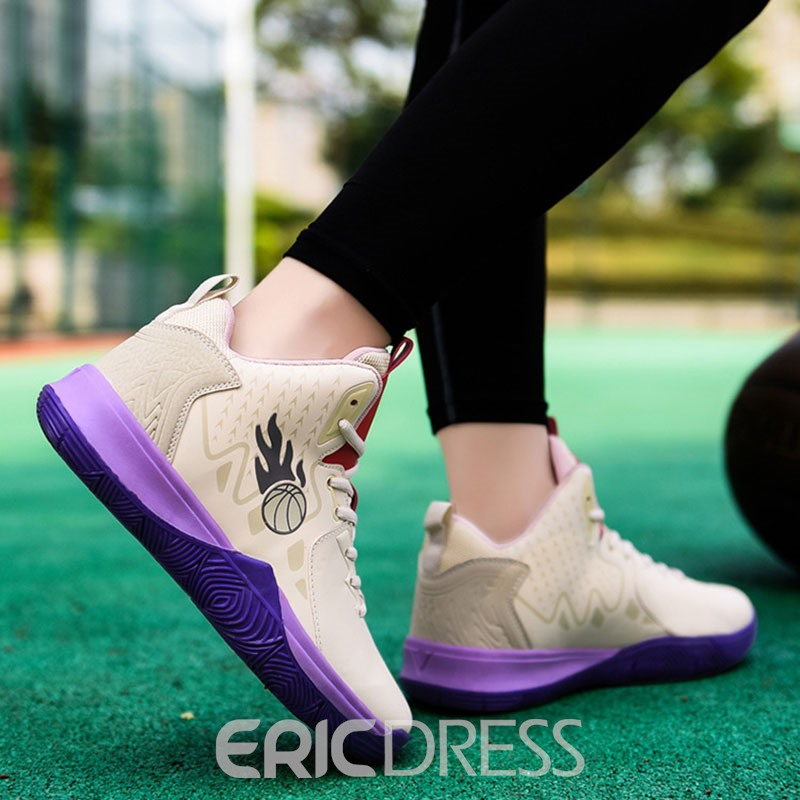 Ericdress Platform Sports Lace-Up Mesh Sneakers