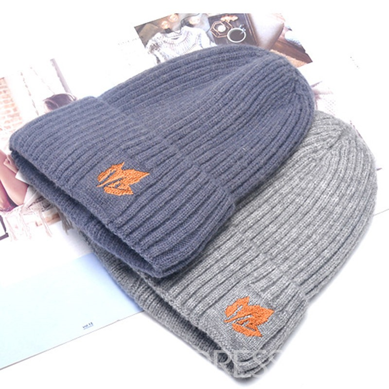 Ericdress Knitted Casual Plant Spring Fashion Hats