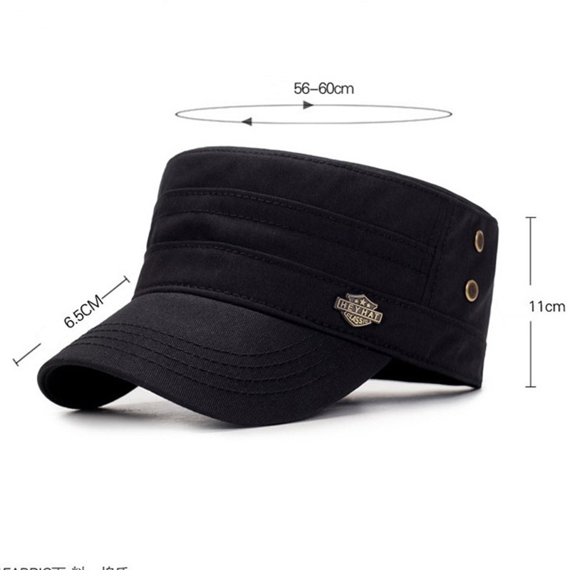 Ericdress Military Cotton Letter Fall Casual Hats