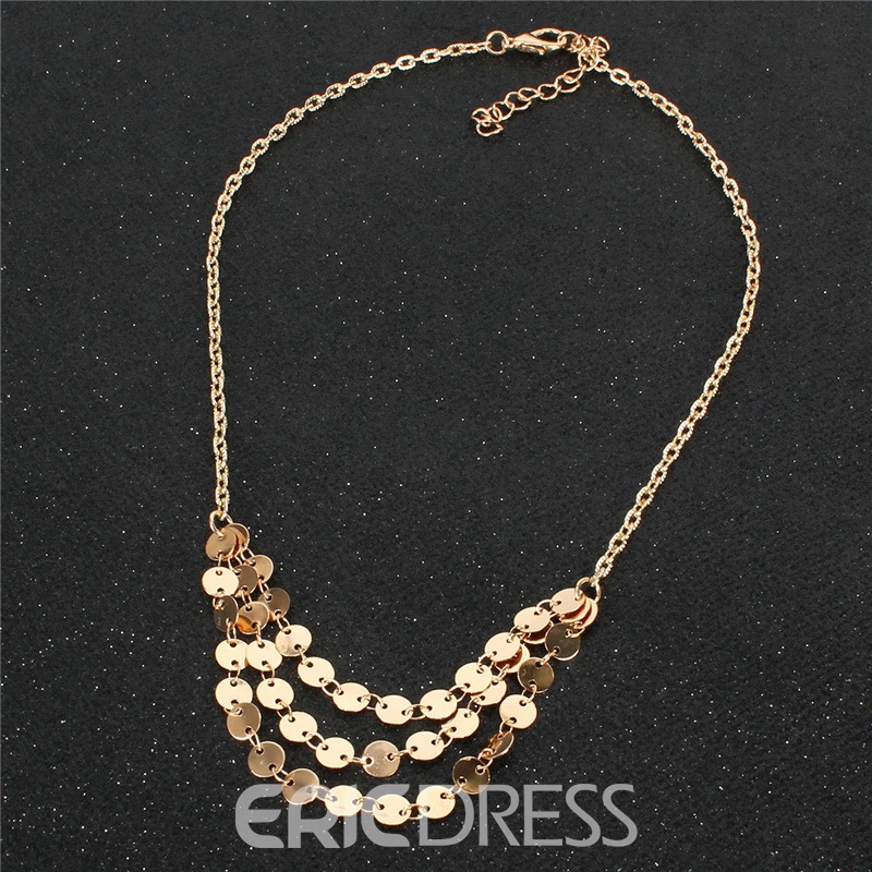 Ericdress Pendant Plain Female Romantic Necklaces