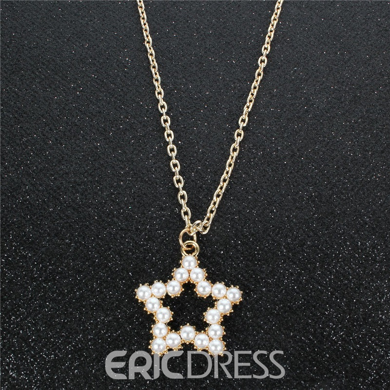 Ericdress Pearl Inlaid Sweet Female Necklaces