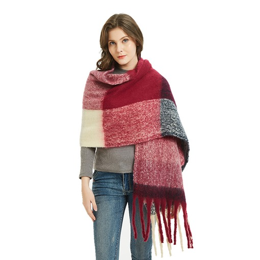 Ericdress Patchwork Casual Plaid Elegant Women's Scarves