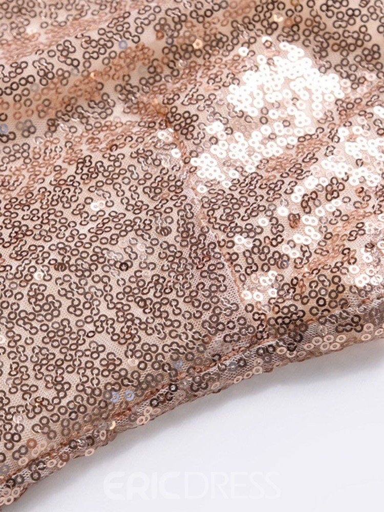 Ericdress Ankle-Length Sequins Sleeve Party/Cocktail Women's Bodycon Dress