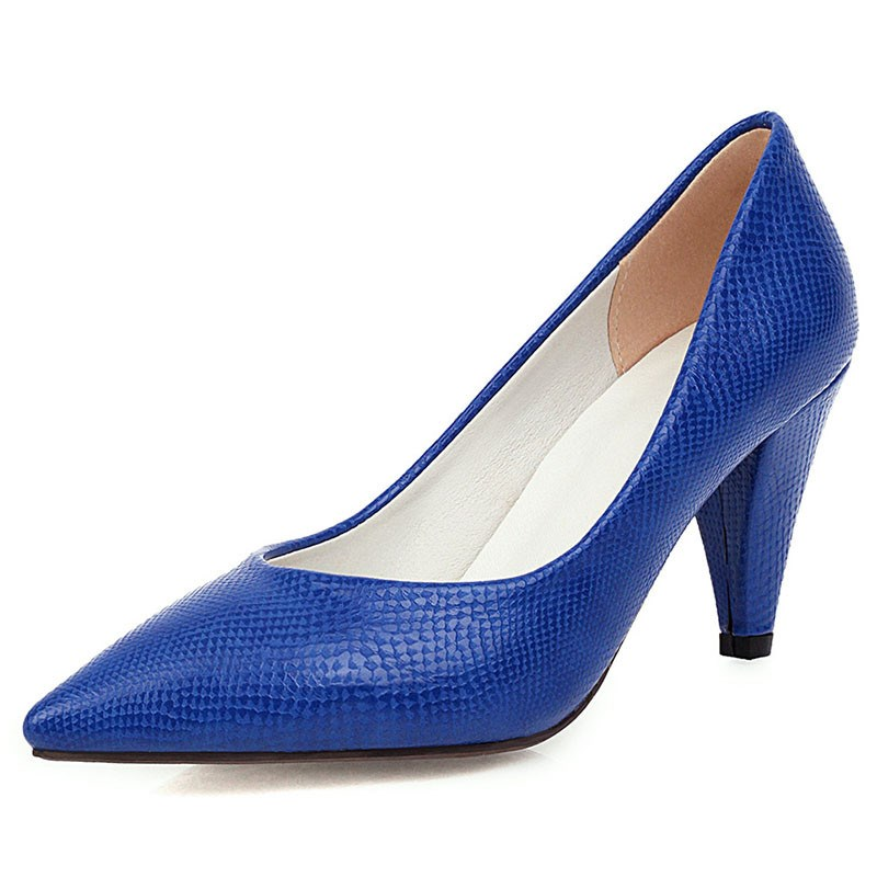 Ericdress Slip-On Pointed Toe Thread Sweet Thin Women′s Shoes