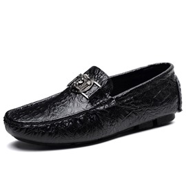 ericdress slip-on low-cut oberen schlichten pu dünne schuhe