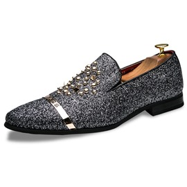 Ericdress Low-Cut Upper Slip-On Round Toe Oxfords