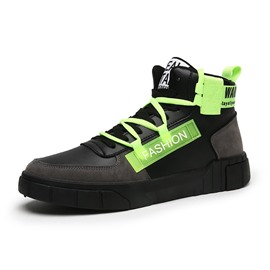 Ericdress Color Block Lace-Up Round Toe Athletic Shoes