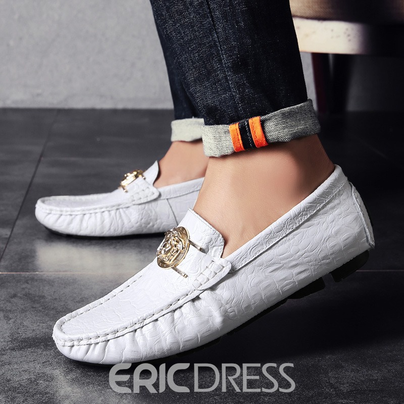 Ericdress Slip-On Low-Cut Upper Plain PU Casual Shoes