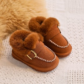 Ericdress Birthday Cute Buckle Baby Boots