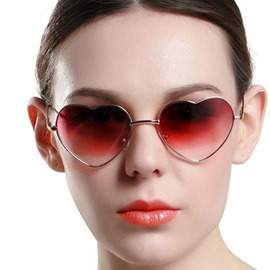 Ericdress Metal Wrap Vintage Sunglasses