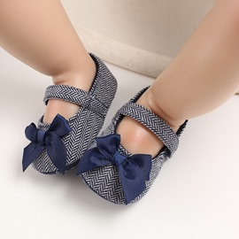 Ericdress Cotton Color Block Fashion Baby Shoes