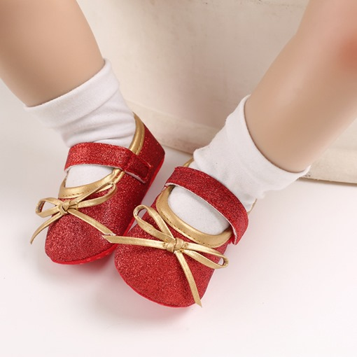 Ericdress Bowtie Princess Fashion Baby Shoes