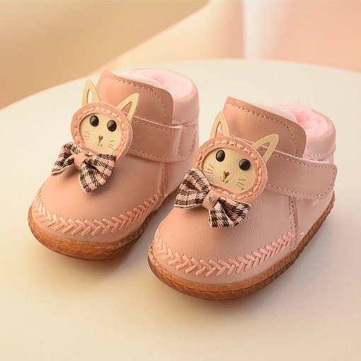 Ericdress Cute Birthday Bowtie Baby Shoes