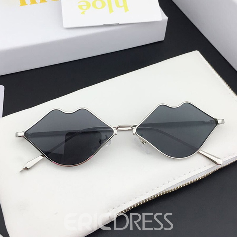 Ericdress Wrap Resin Charm Women's Sunglasses