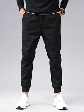 Ericdress Harem Plain Low Waist Men's Casual Pants