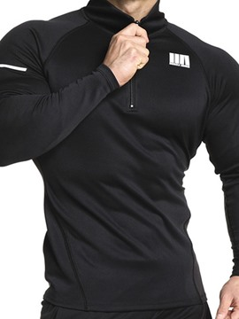 Ericdress Sports Long Sleeve Men's Slim T-shirt