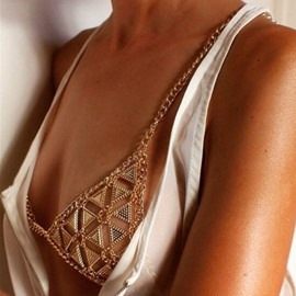 ericdress body chain collares de encanto europeo