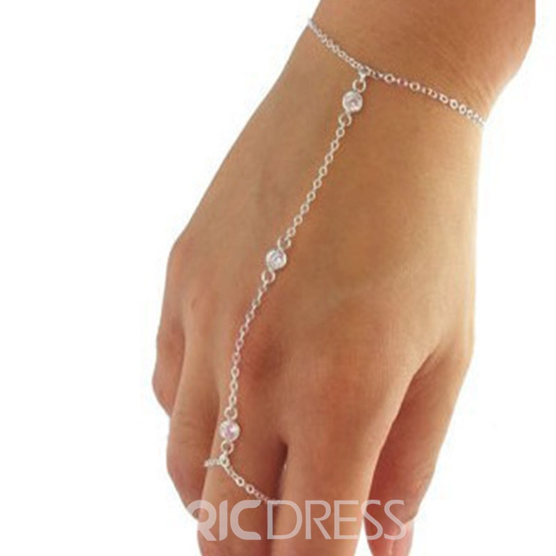 Ericdress Crystal Inlaid Sweet Female Bracelets