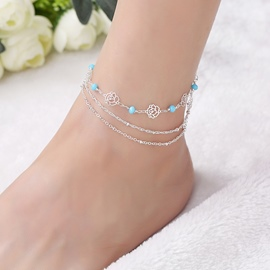 Ericdress Alloy E-Plating Sweet Women's Anklets
