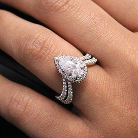 Ericdress Diamante Romantic Party Fashion Rings