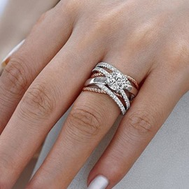 Ericdress Diamante Romantic Prom Women's Rings
