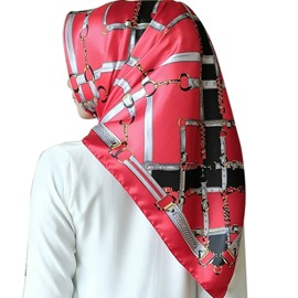 Ericdress Charmeuse Geometric Pattern Women's Scarves