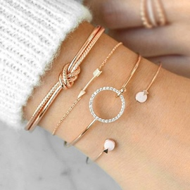 Ericdress Diamante Sweet Female Bracelets