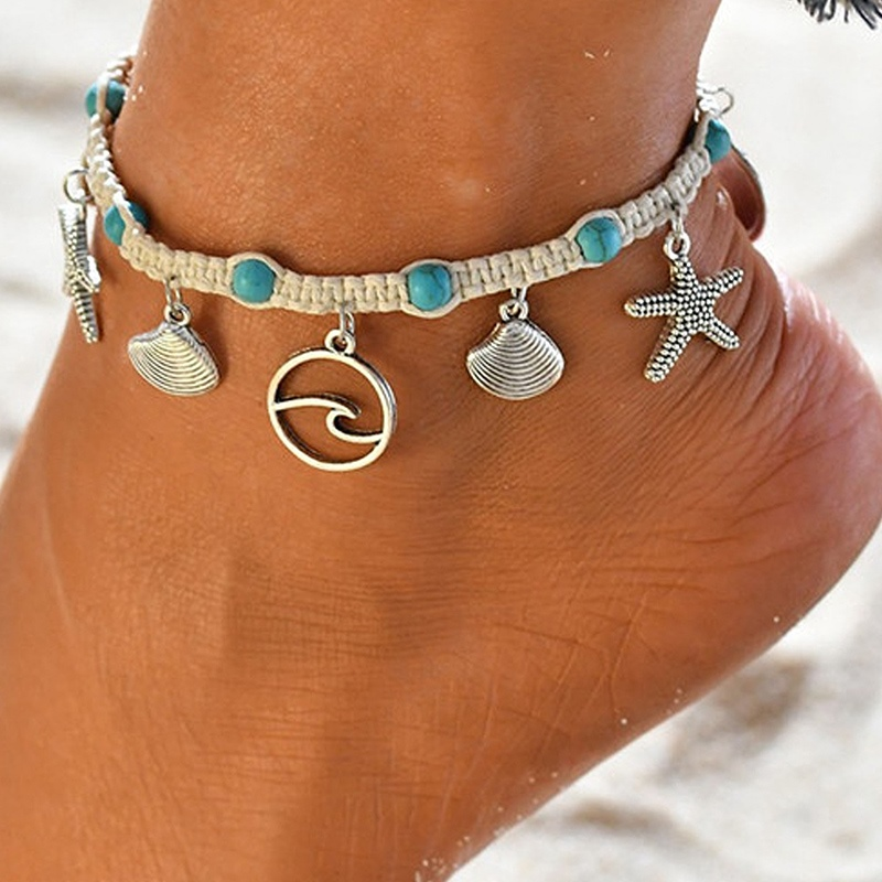 Ericdress Female Vintage Womens Anklets