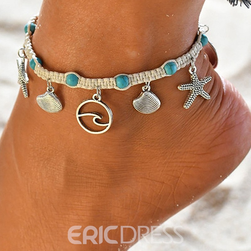 Ericdress Female Vintage Women's Anklets