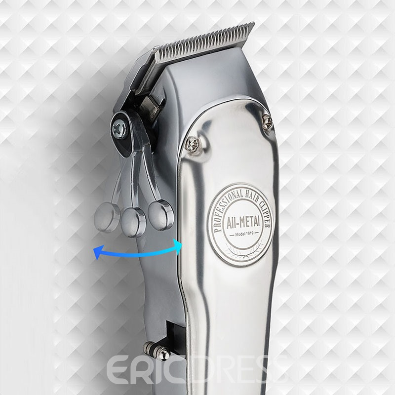 Barber Shop Rechargeable Hair Clipper All Metal Electric Hair Trimmer Men Professional Beard Trimmer Haircut Machine