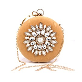 Ericdress Circular Versatile Clutches Evening Bags